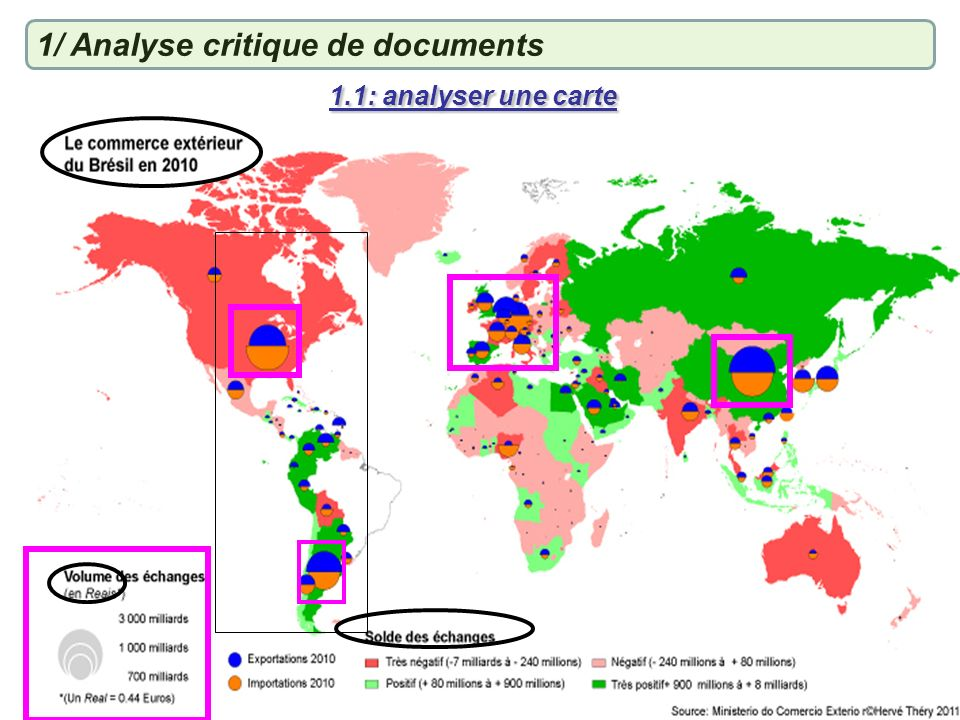 1/ Analyse critique de documents