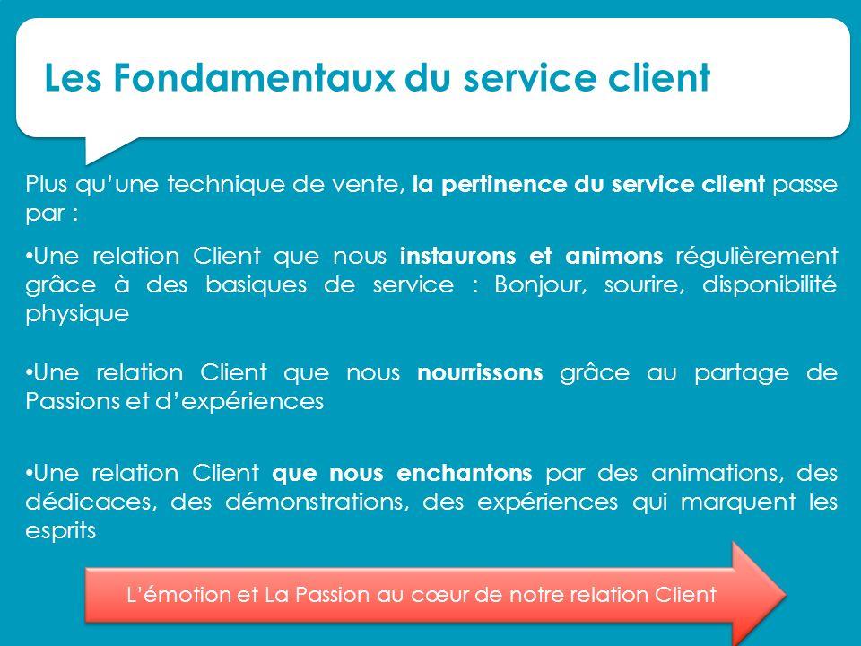 Les Fondamentaux du service client