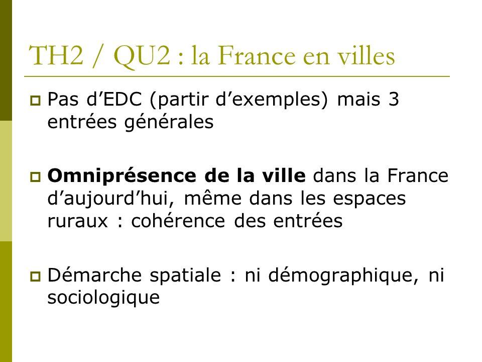 TH2 / QU2 : la France en villes