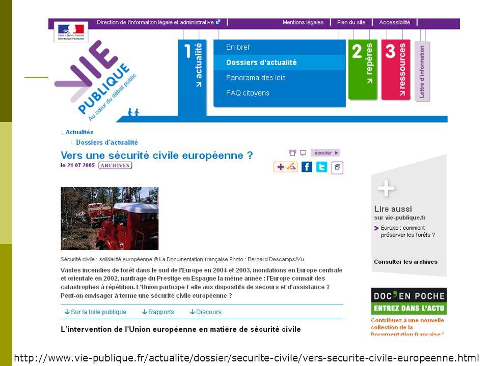 http://www. vie-publique