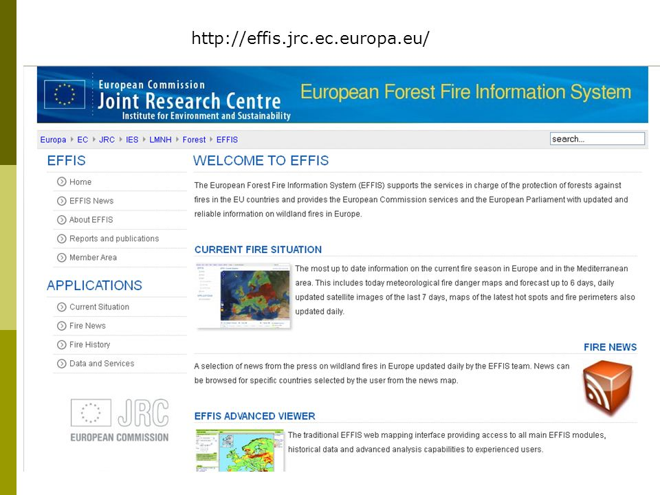 http://effis.jrc.ec.europa.eu/