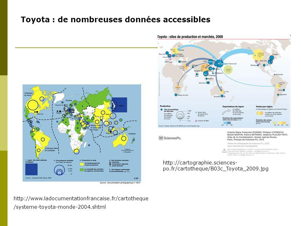 Toyota : de nombreuses données accessibles