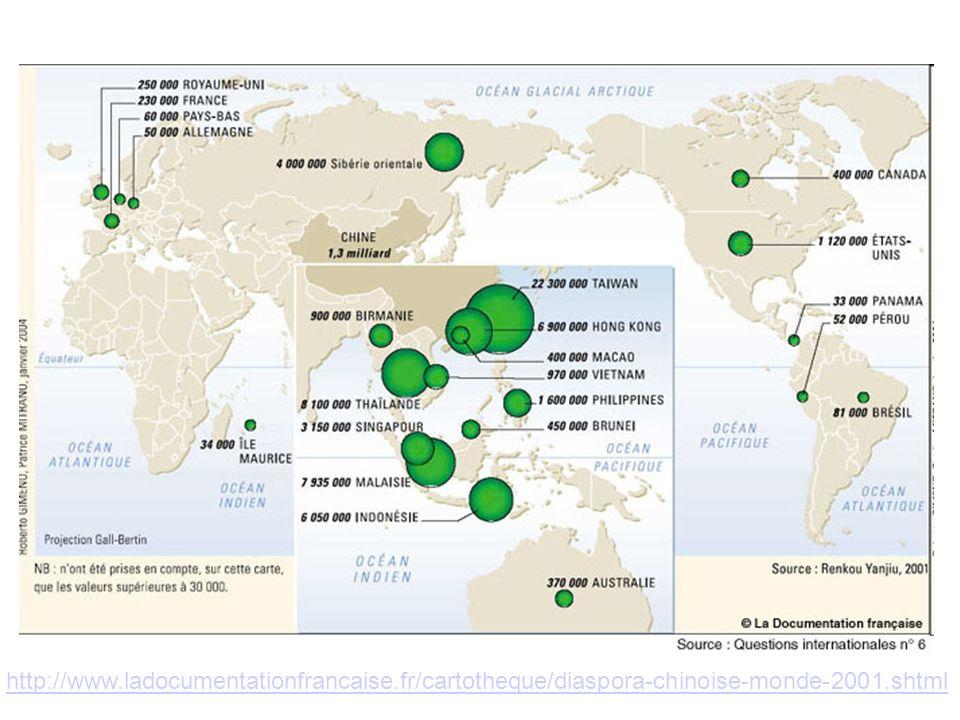 08/10/11 http://www.ladocumentationfrancaise.fr/cartotheque/diaspora-chinoise-monde-2001.shtml