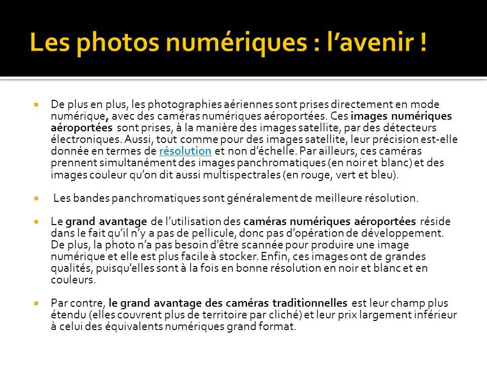 Les photos numériques : l'avenir !