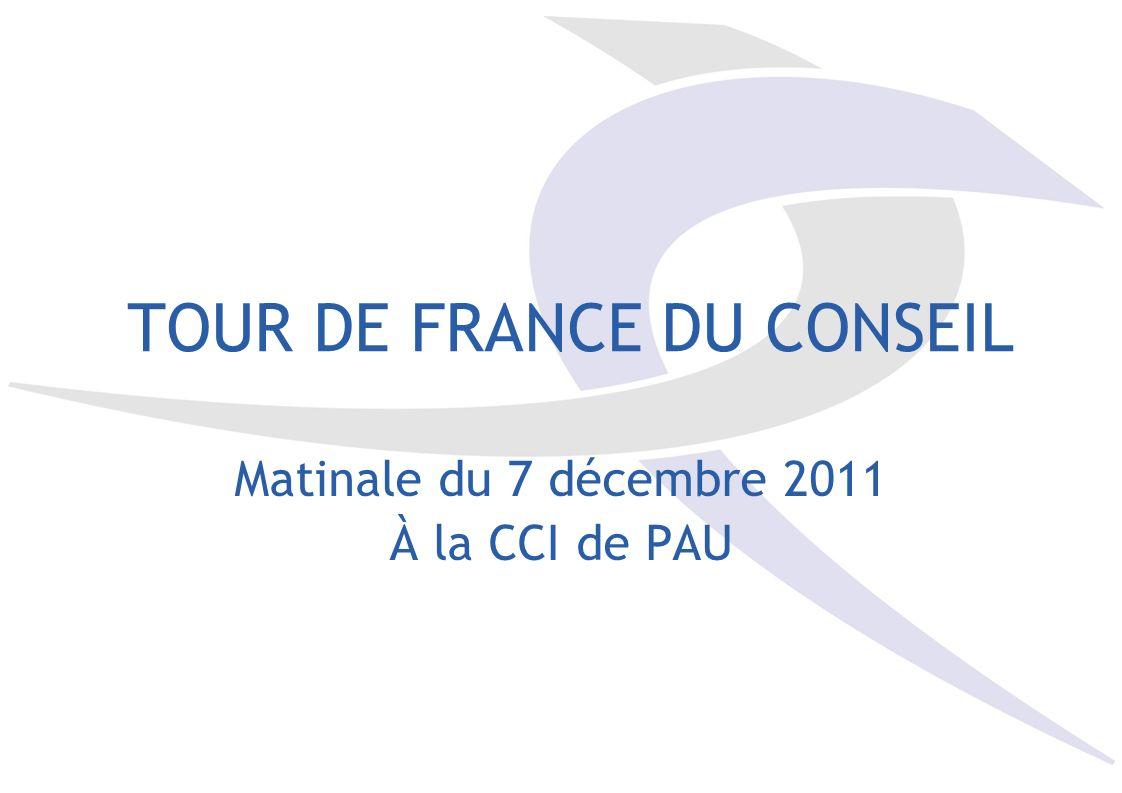 TOUR DE FRANCE DU CONSEIL
