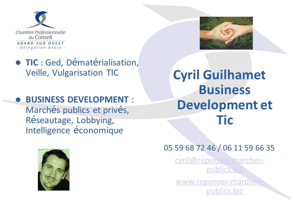 Cyril Guilhamet Business Development et Tic