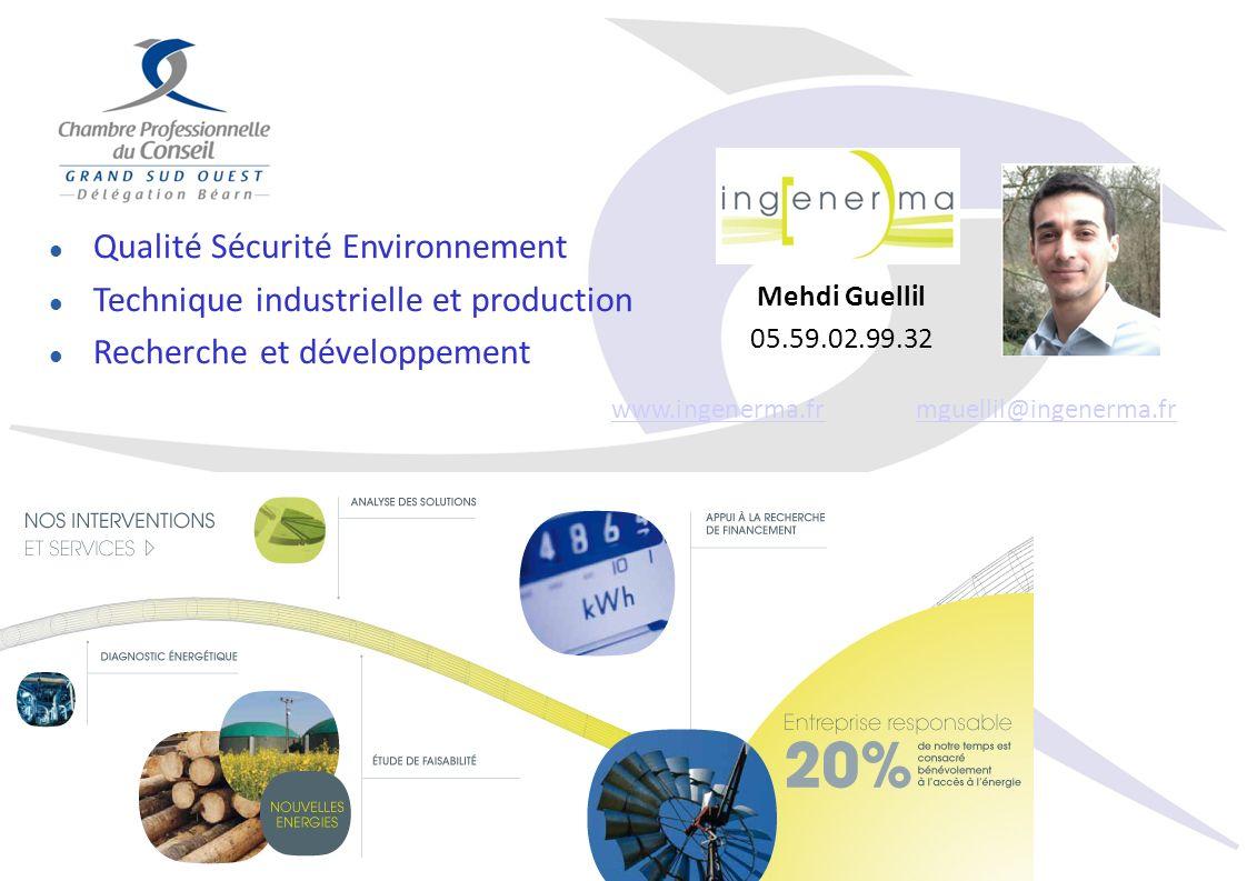 www.ingenerma.fr mguellil@ingenerma.fr