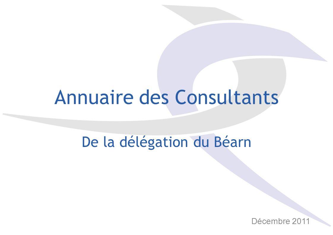 Annuaire des Consultants