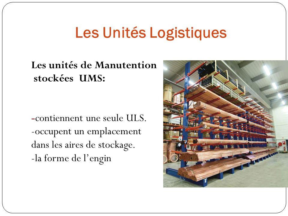 Les Unités Logistiques
