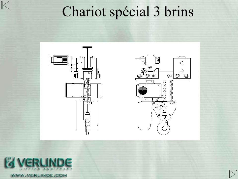 Chariot spécial 3 brins