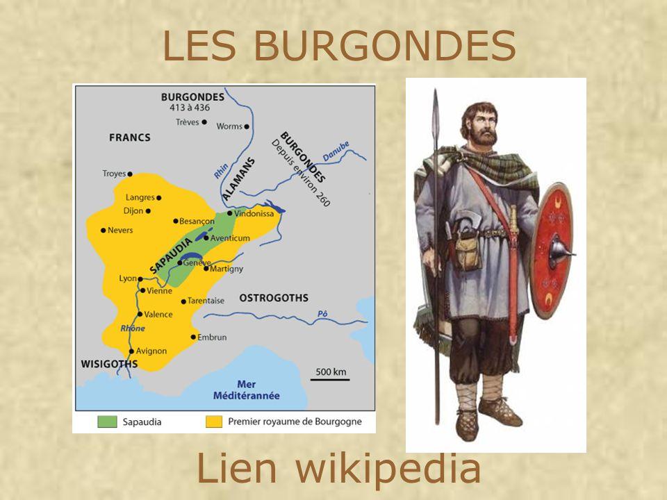 LES BURGONDES Lien wikipedia