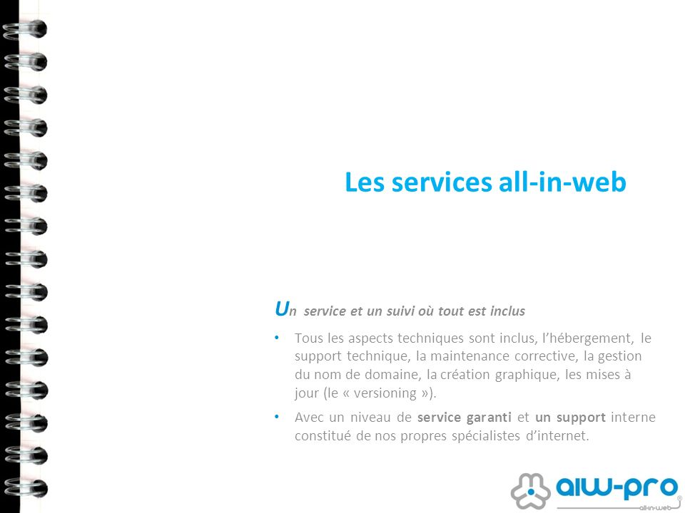 Les services all-in-web
