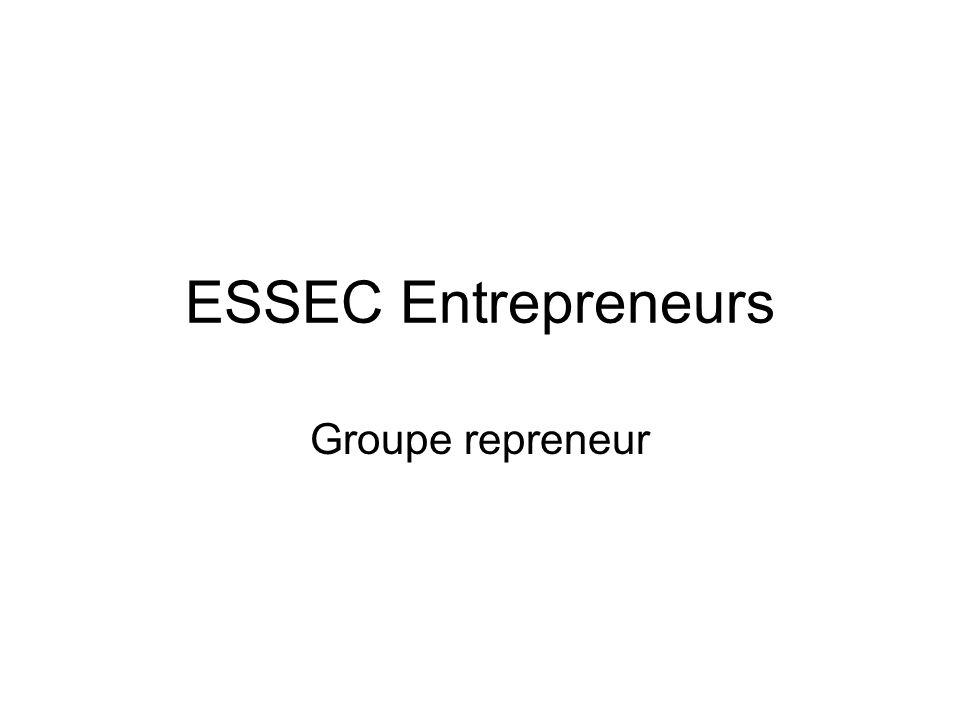 ESSEC Entrepreneurs Groupe repreneur