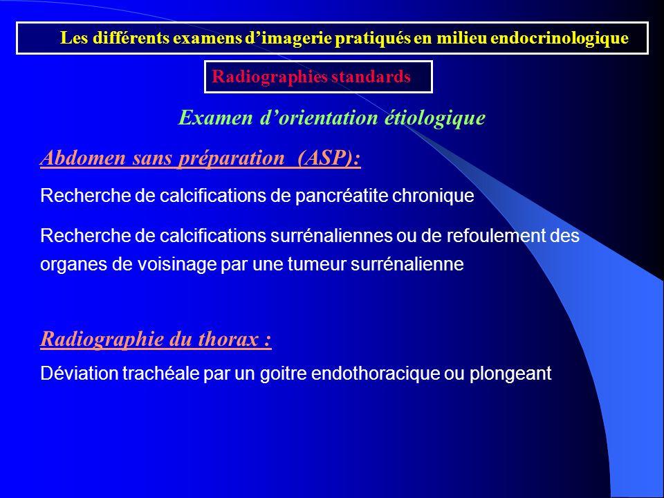 Examen d'orientation étiologique