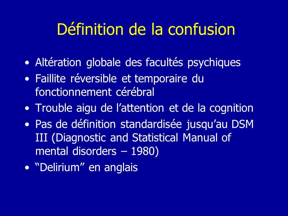 Définition de la confusion