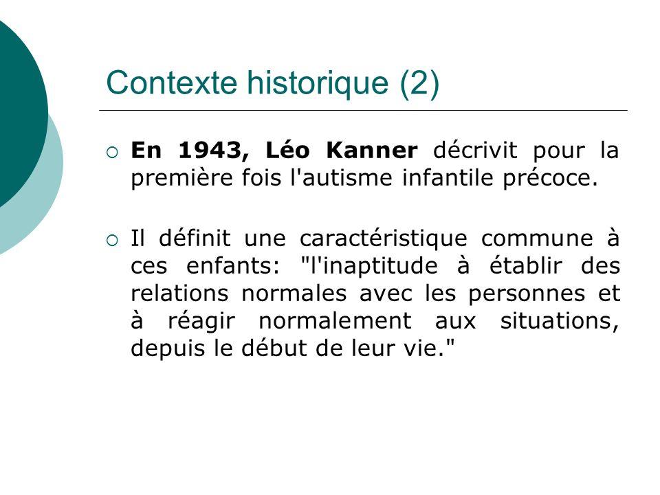 Contexte historique (2)