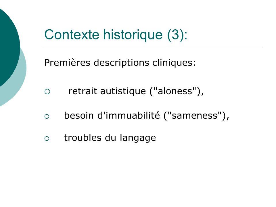 Contexte historique (3):