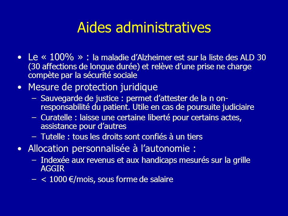 Aides administratives