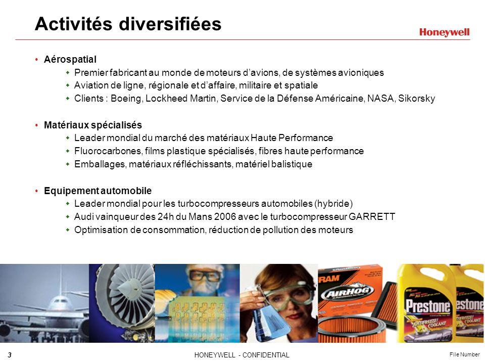 Activités diversifiées