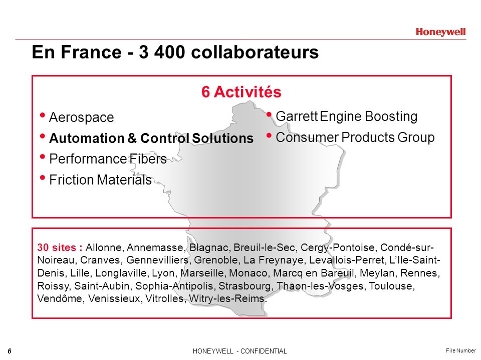En France - 3 400 collaborateurs