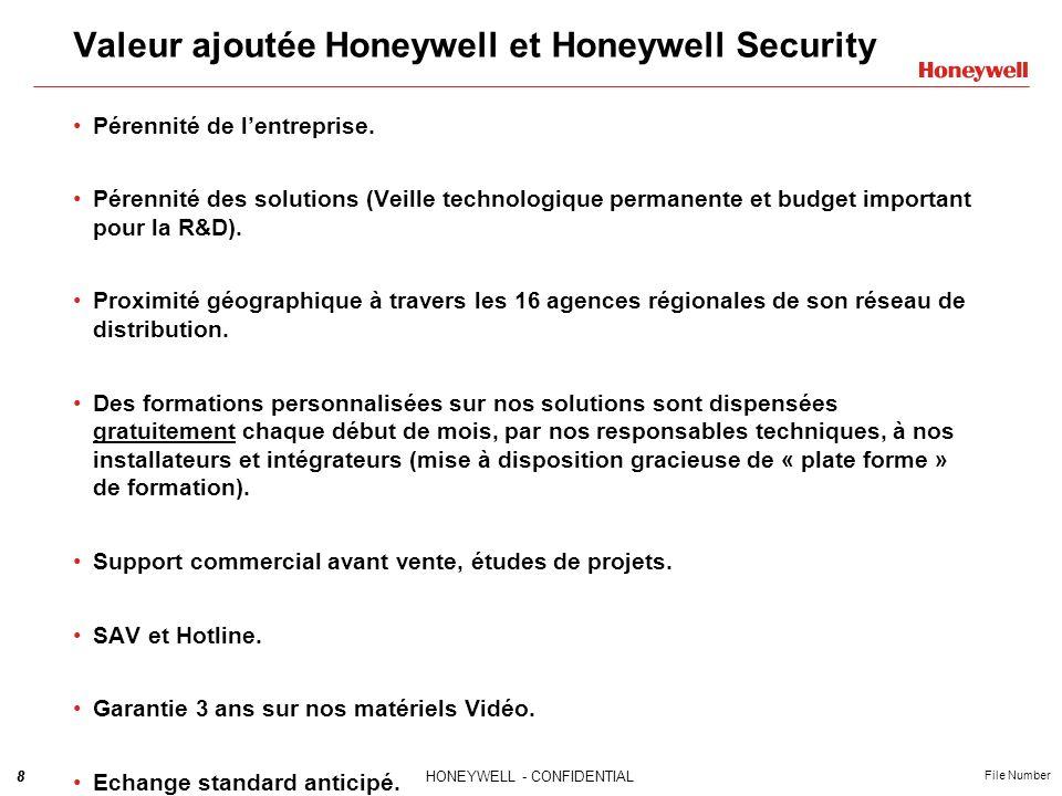 Valeur ajoutée Honeywell et Honeywell Security