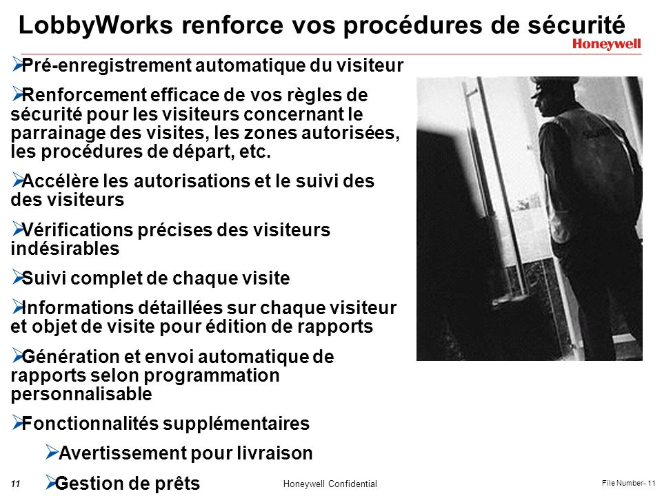 LobbyWorks renforce vos procédures de sécurité