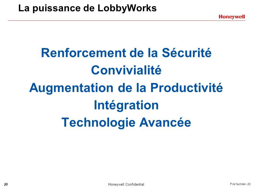 La puissance de LobbyWorks