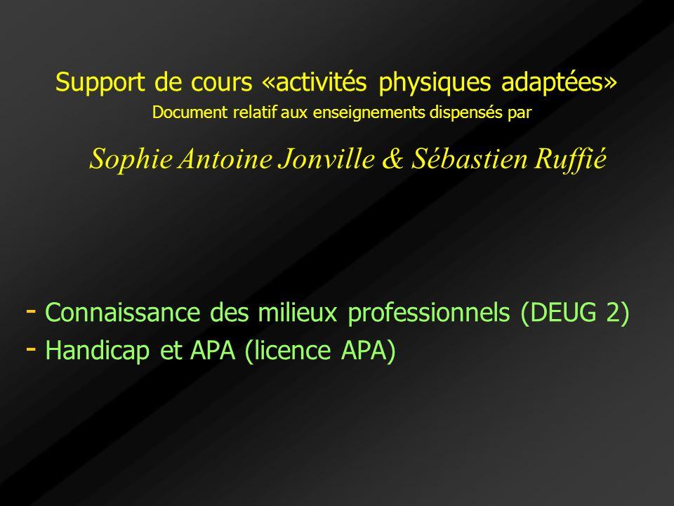Sophie Antoine Jonville & Sébastien Ruffié