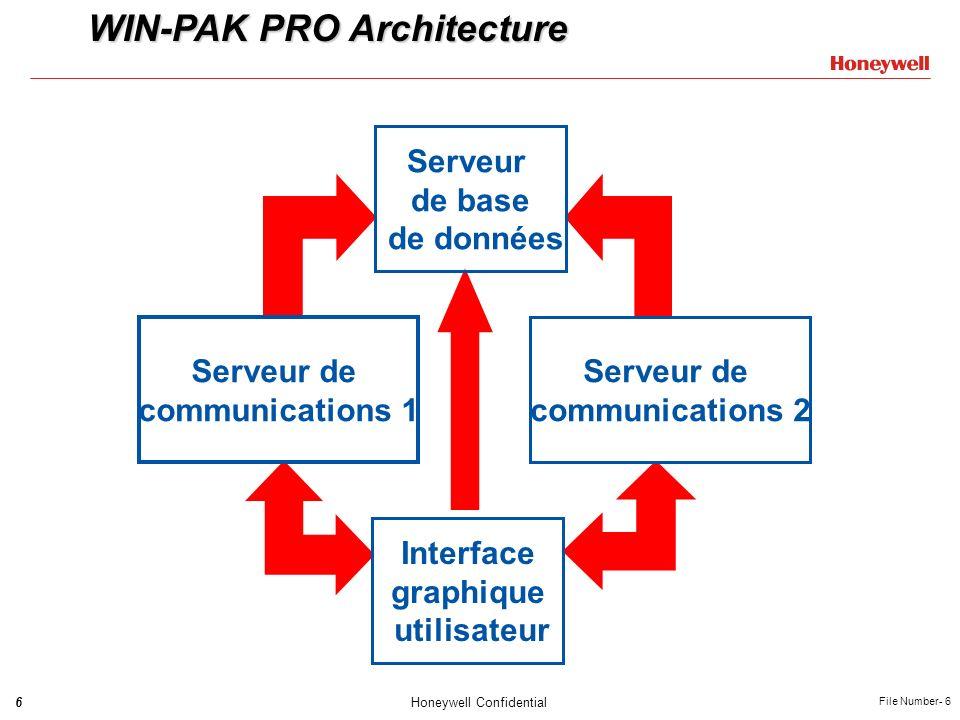 WIN-PAK PRO Architecture