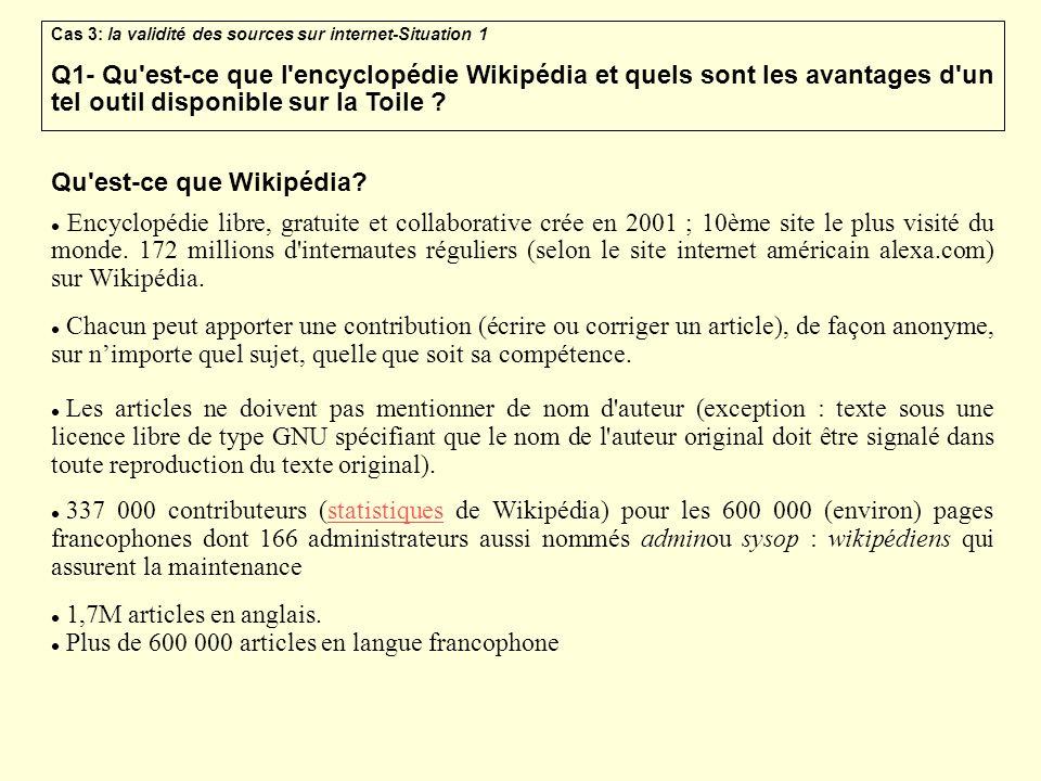 Qu est-ce que Wikipédia