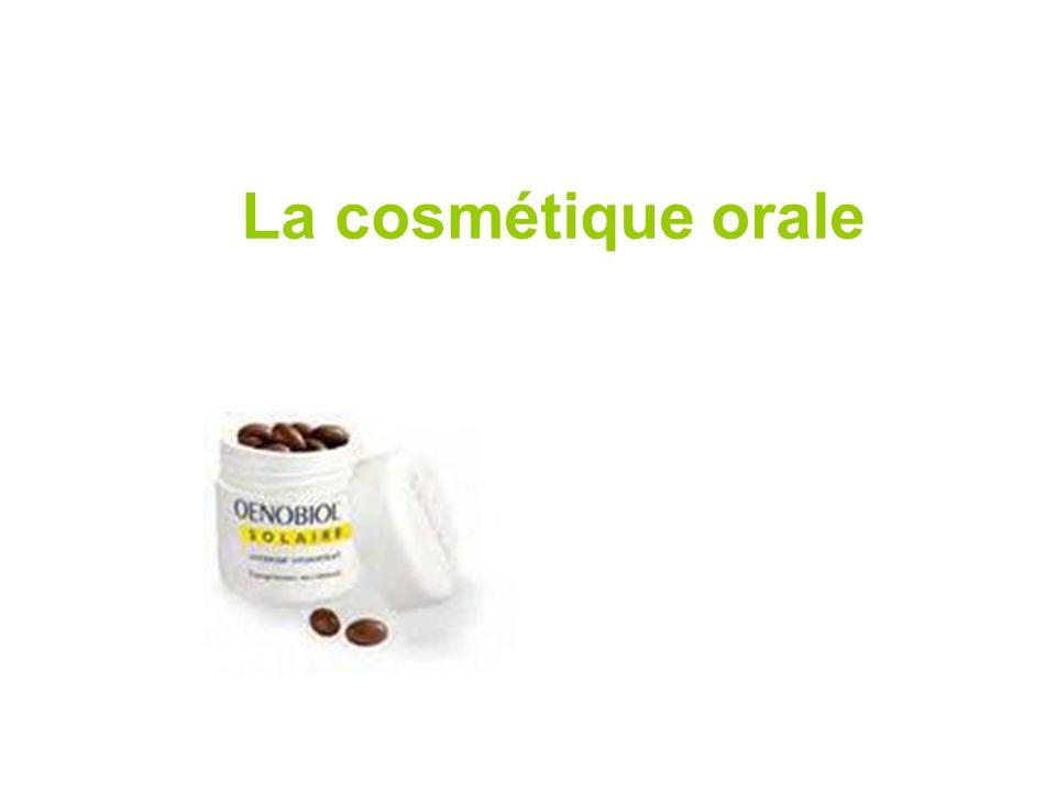 La cosmétique orale