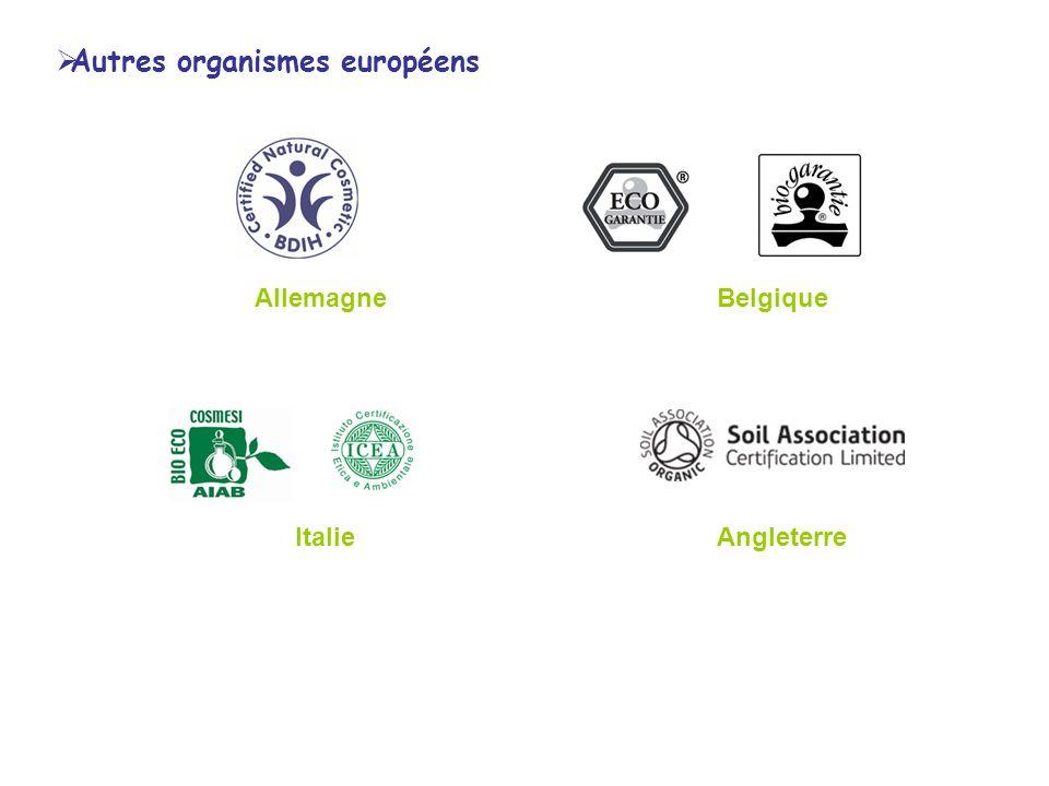 Autres organismes européens