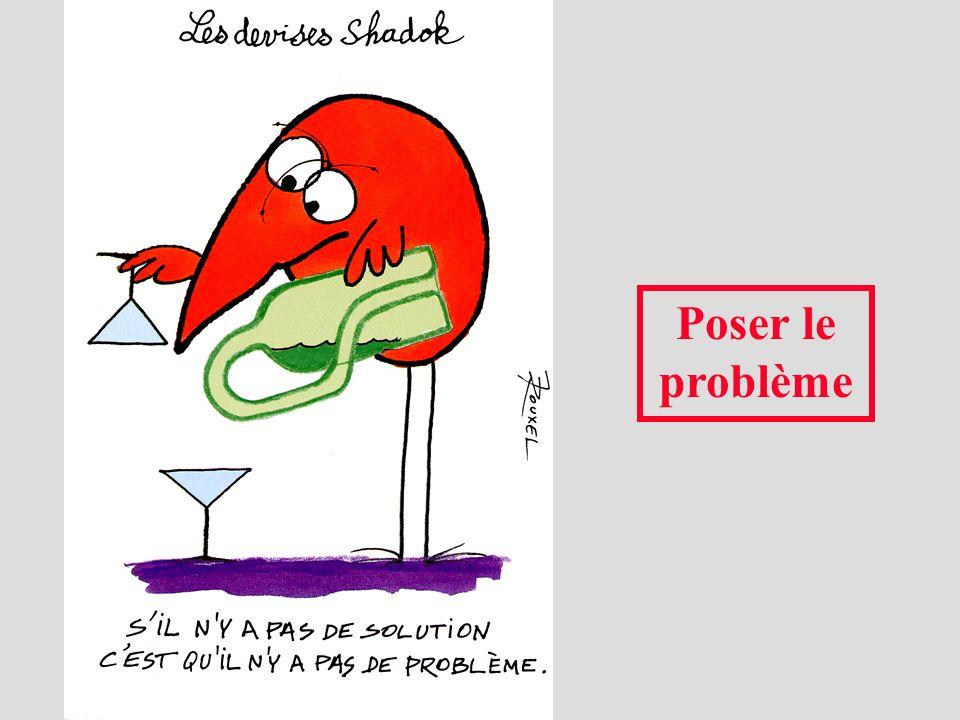 Poser le problème