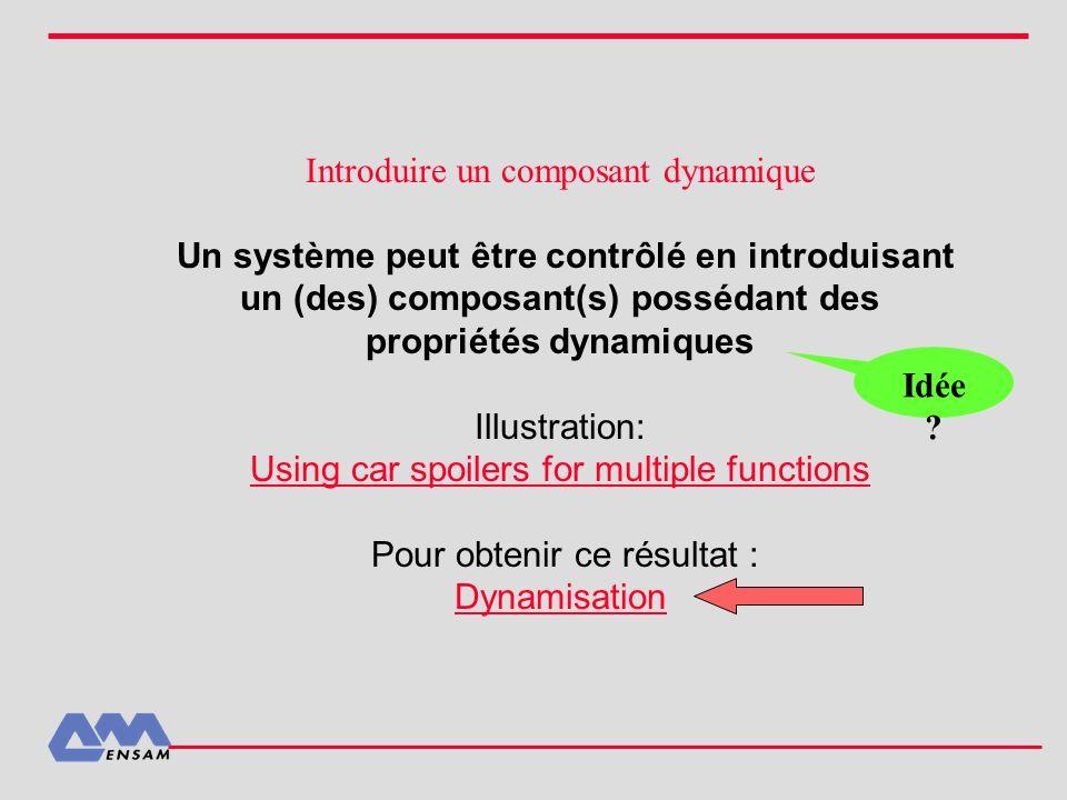 Introduire un composant dynamique