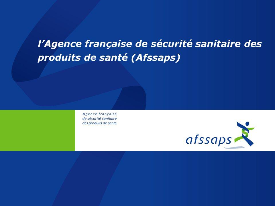 26/03/2017 l'Agence française de sécurité sanitaire des produits de santé (Afssaps)