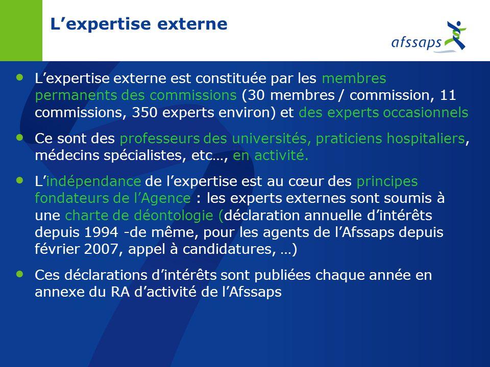 L'expertise externe