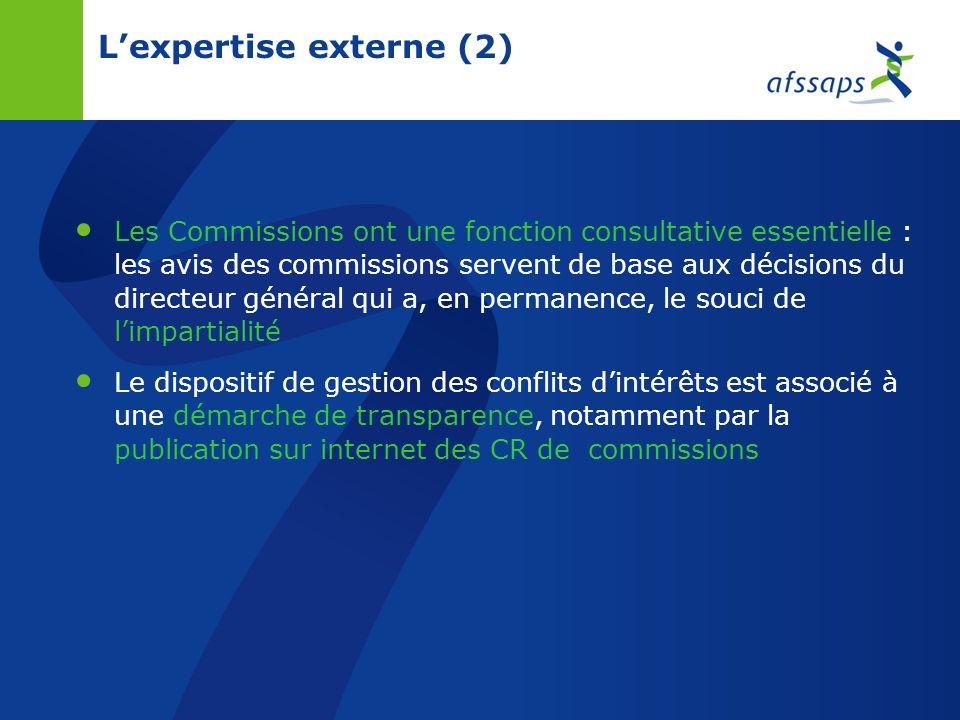 L'expertise externe (2)