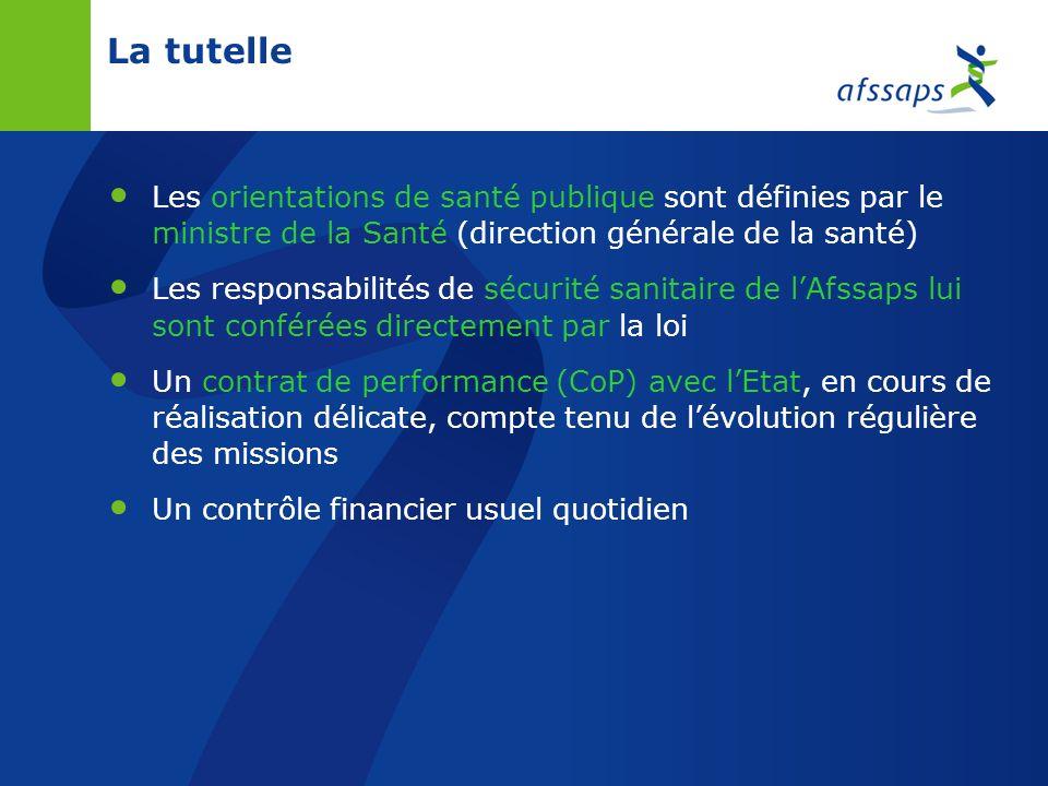 26/03/2017La tutelle. Les orientations de santé publique sont définies par le ministre de la Santé (direction générale de la santé)