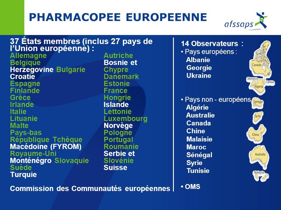 PHARMACOPEE EUROPEENNE
