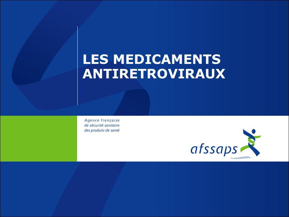 LES MEDICAMENTS ANTIRETROVIRAUX