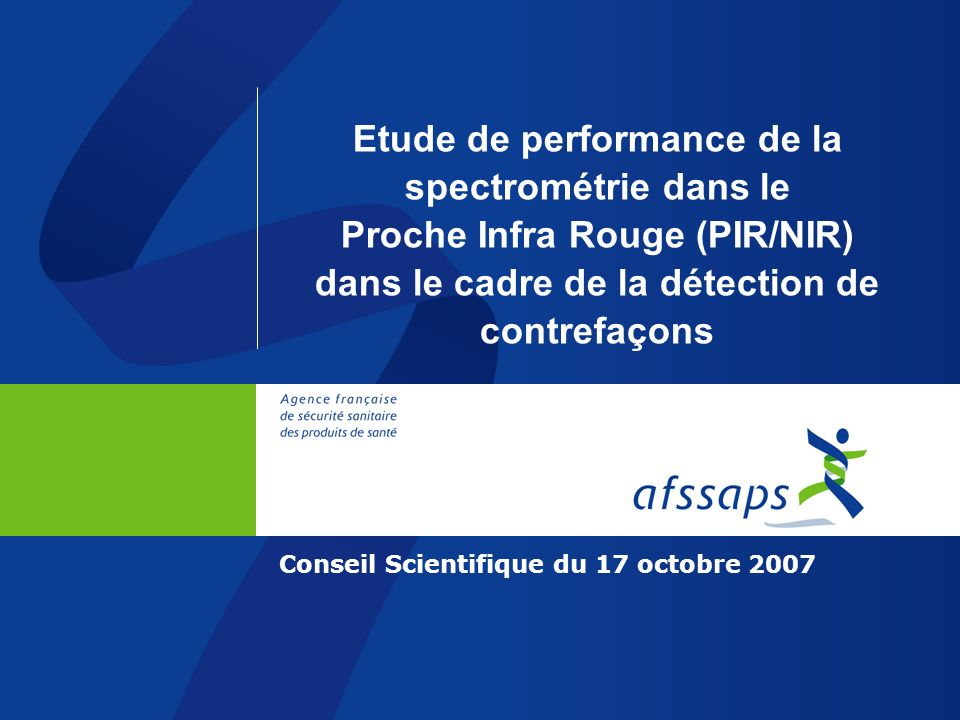 Conseil Scientifique du 17 octobre 2007