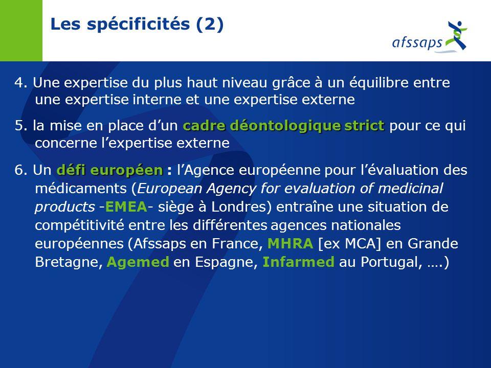 26/03/2017 Les spécificités (2) 4. Une expertise du plus haut niveau grâce à un équilibre entre une expertise interne et une expertise externe.