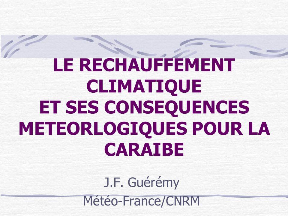 J.F. Guérémy Météo-France/CNRM