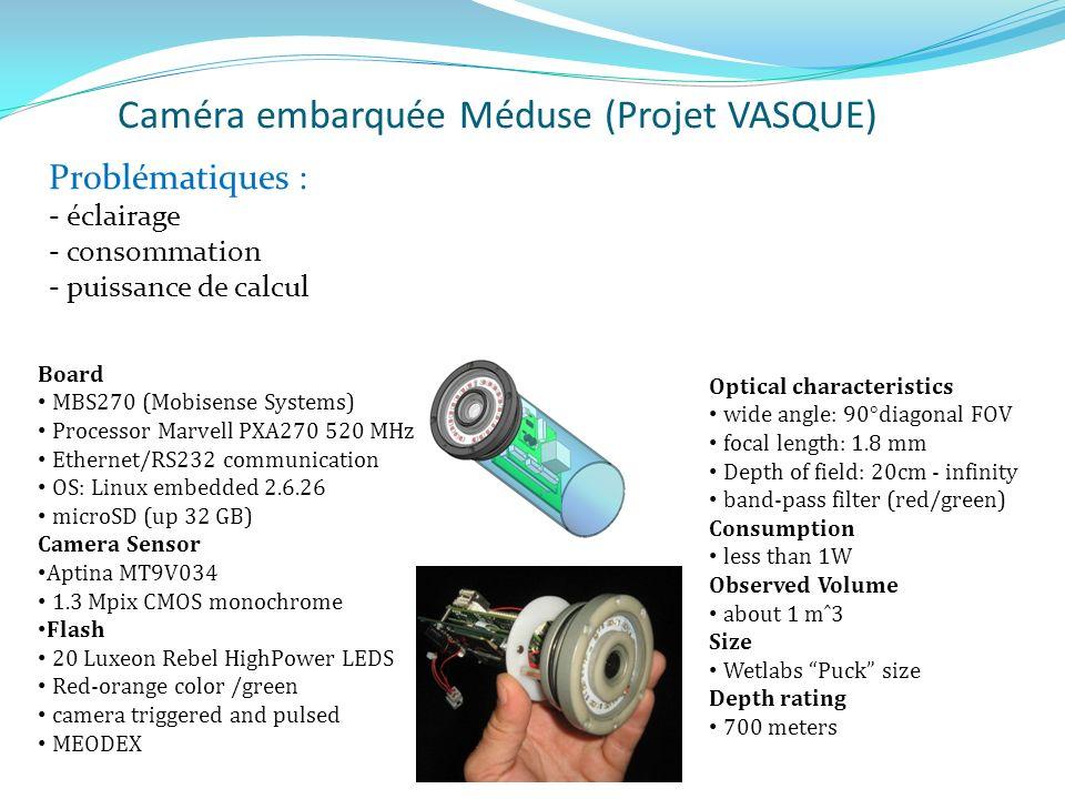 Caméra embarquée Méduse (Projet VASQUE)