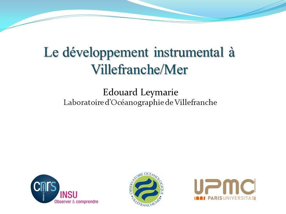 Le développement instrumental à Villefranche/Mer