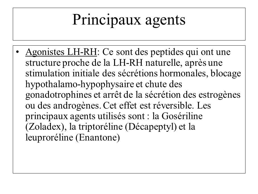 Principaux agents