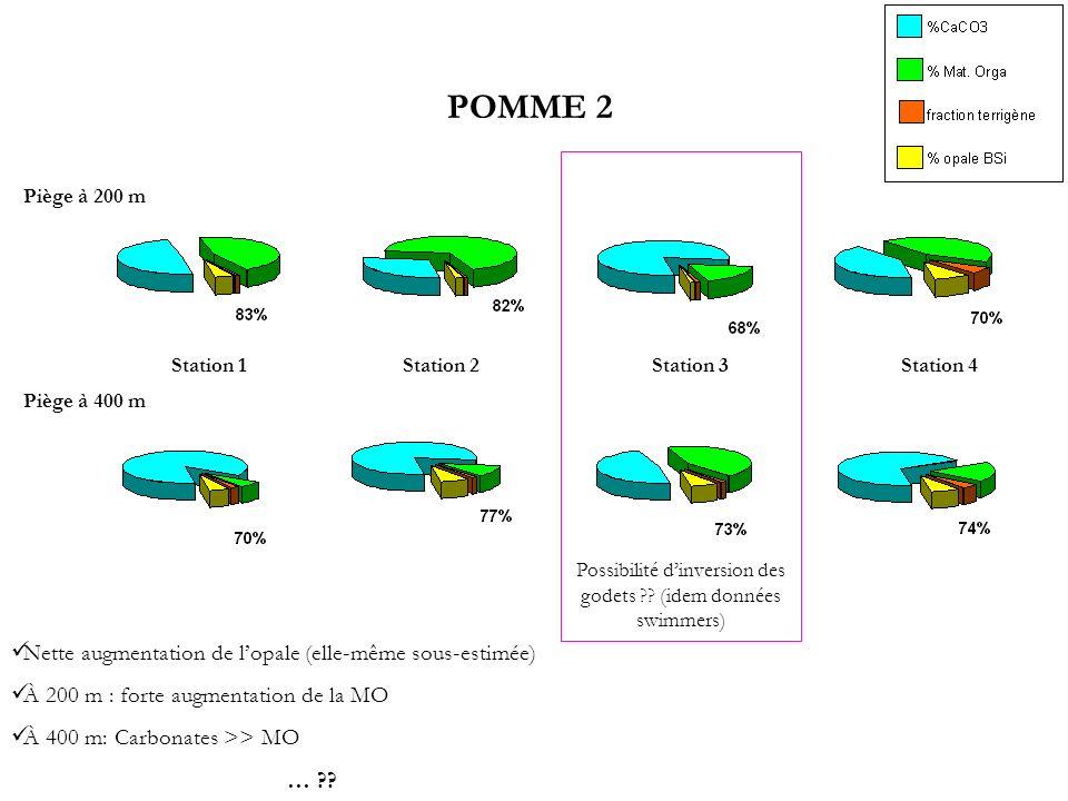 Possibilité d'inversion des godets (idem données swimmers)