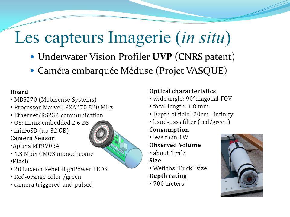 Les capteurs Imagerie (in situ)