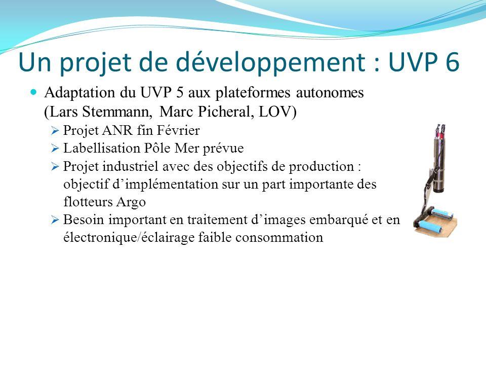 Un projet de développement : UVP 6
