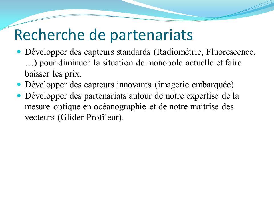 Recherche de partenariats